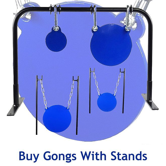 hardox steel shooting targets with stand