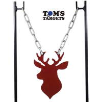 hardox-stag-head-shooting-target-stand